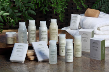 Aveda Hotel Toiletries And Natural Bath Products Hotel